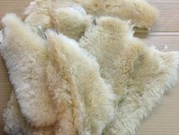 2 Tan Merino Sheepskin Pads Shoe Inserts Reline UGGs Slipper
