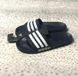Adidas Adilette Shower Slides Sandal Men's Navy Blue White