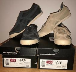 Asics Onitsuka Tiger Mexico 66 in Colors Sand and Dark Grey