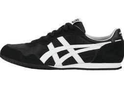 Asics Onitsuka Tiger Unisex SERRANO Shoes Black/White D109L-