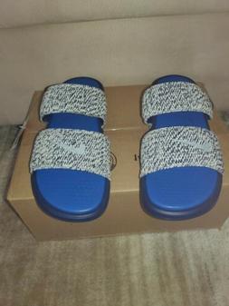 Nike Benassi Duo Ultra Slide Slipper Pigalle off white QS BL