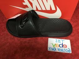 Nike Benassi JDI Men's Slide Black/Black Slipper 343880 001