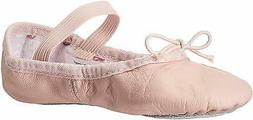 Bloch Dance Girl's Bunnyhop Full Sole Leather Ballet Slipper