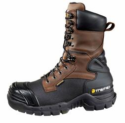 "Carhartt Boot, Men's 10"" Brown Pac Boot, Size 12, Med/Wide,"