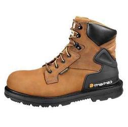 """Carhartt Boot, Men's 6"""" Bison Brown Waterproof Steel Toe Boo"""