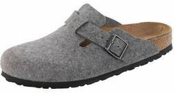 Birkenstock Boston Felt Mule Slip On Slippers Sandal Clogs W