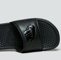 Brand New NIKE BENASSI JDI SLIDES BLK/BLK