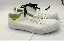 Converse Chuck Taylor II 2 Lunarlon Low White Men's Shoes Un