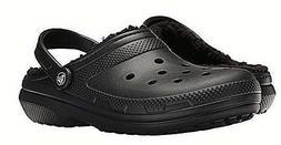 Crocs Classic Lined Clogs Black Men 9, 11, 13, 14   NWT