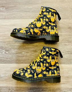 Dr. Martens Castel Adventure Time Jake Print Ankle Boots Men