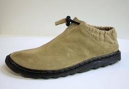 Dr Martens Men's 8C51 Tan Suede Slipper Shoes US 9 NOB NWD