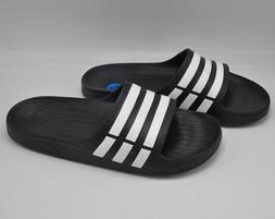 adidas Duramo Men's Slides - Black Size 10  - Sandals Slippe