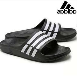 adidas Duramo Slide Sandal,Dark Blue/White/Dkblue,8 M US