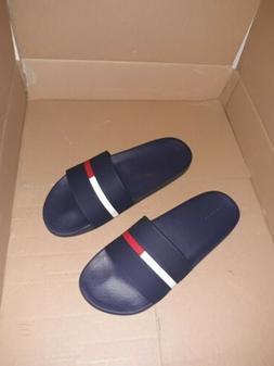 Tommy Hilfiger Ennis Slide Sandal, Men's Size 9M, Navy Brand