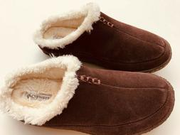 EUC Columbia Suede Slippers Size 7 US/ 40 UK #YM1405-248