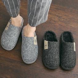 Fashion Women Slippers Winter Warm Fur Slides Men Ladies Boy