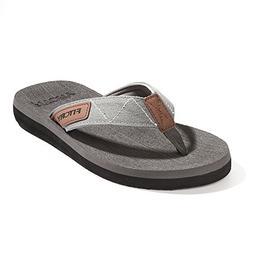 FITORY Men's Flip-Flops, Thongs Sandals Comfort Slippers for