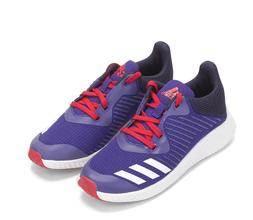 ADIDAS  FORTA RUN K ATHLETIC SHOES  Size 6  Purple/White/Red