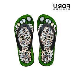Funny Printed Men's Flip-flops Boys Summer Fashion Slipper B