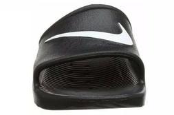 Nike KAWA SHOWER Men's Size 9 Slide Black/White Slipper 8325