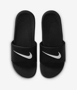 Nike Kawa Slide 832646-010 Black White Men's Slide Sandals N