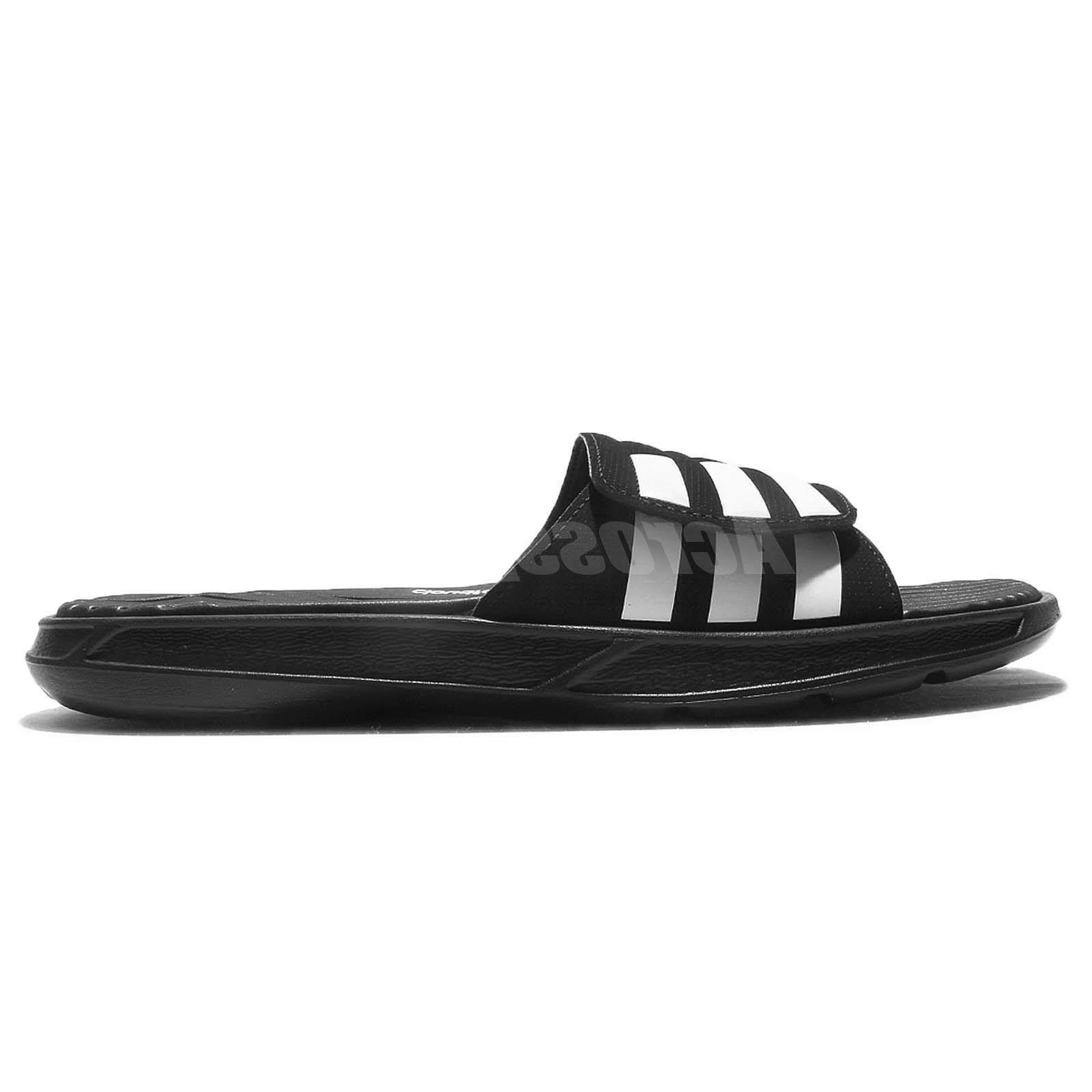 2018 adidas Izamo CF Black White Men Sandal
