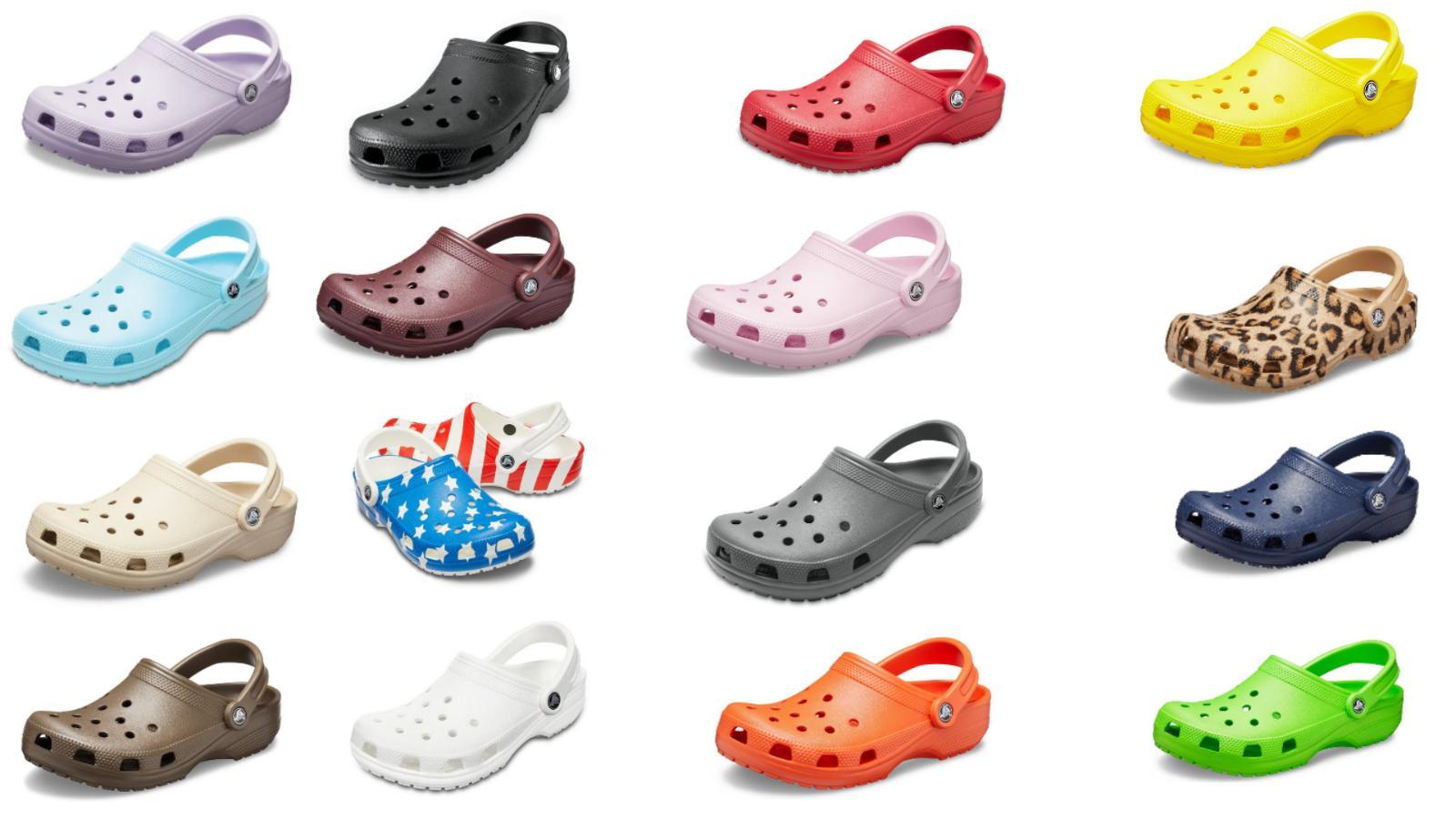 25 colors original classic clogs unisex shoes