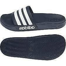Adidas Adilette Aqua Dark Blue White Navy Men Women Slippers
