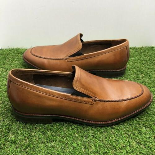 COLE HAAN Aerocraft Venetian Leather Loafer Shoes C29054