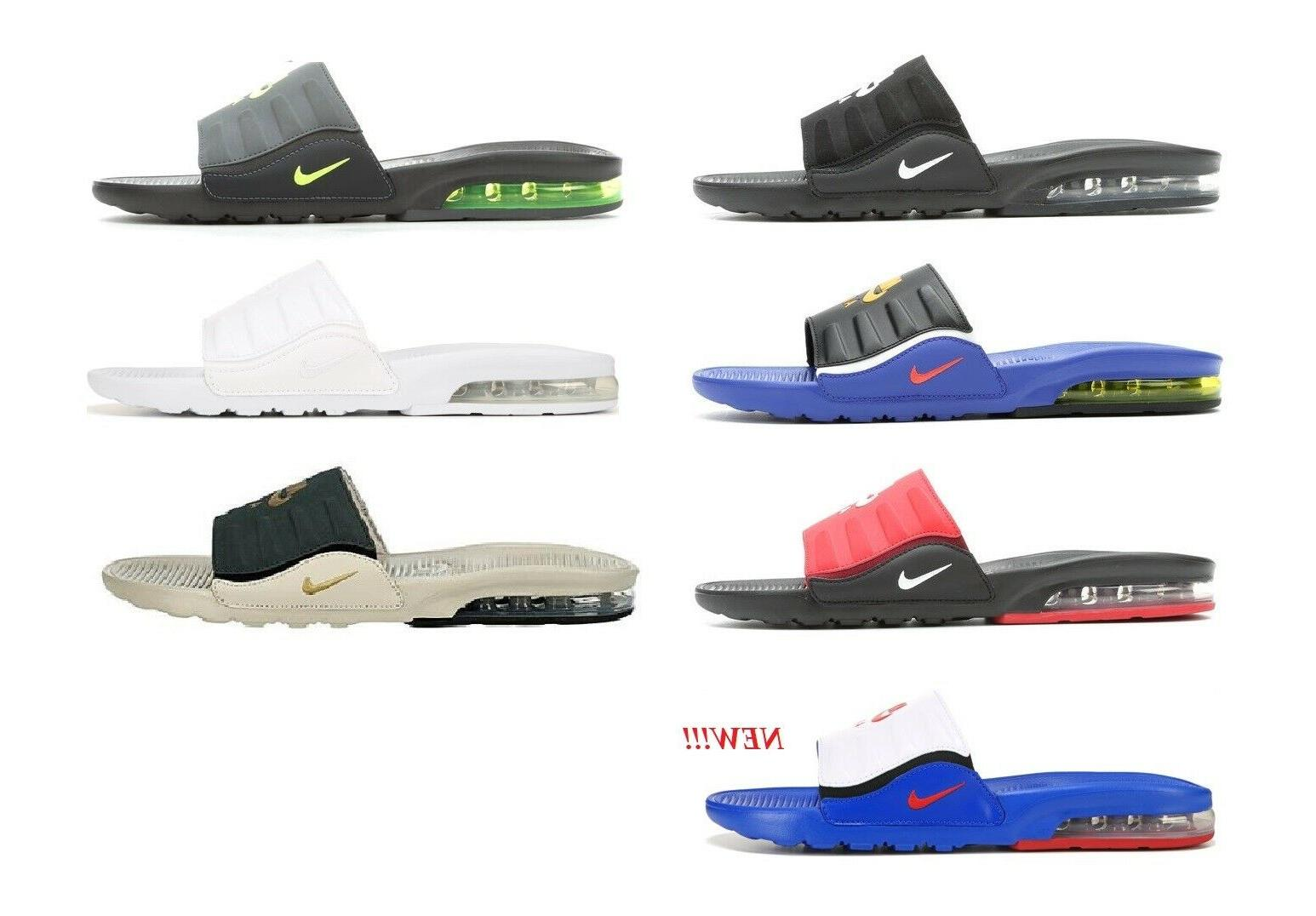 Nike Air Max Men's Cushioned On Sandals Slippers