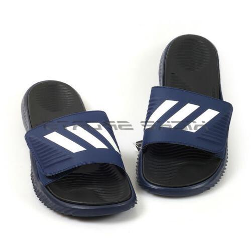 Adidas Alphabounce Dark Blue/Black/White Sandals Slippers F34774