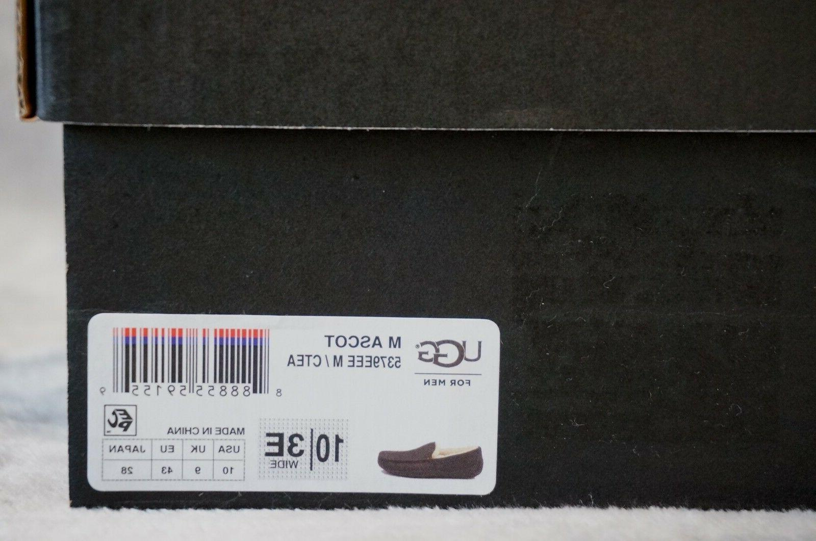 UGG LEATHER SLIPPERS US WIDE CHINA TEA,