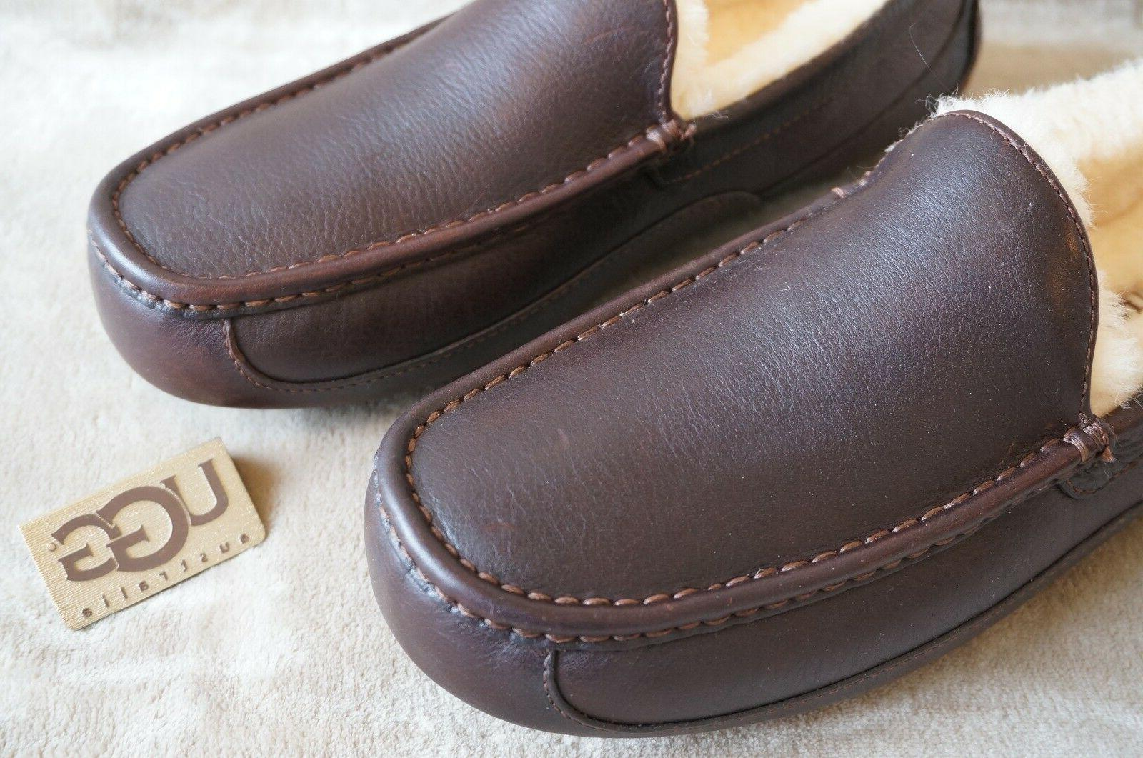 UGG ASCOT SLIPPERS 10 WIDE Mens