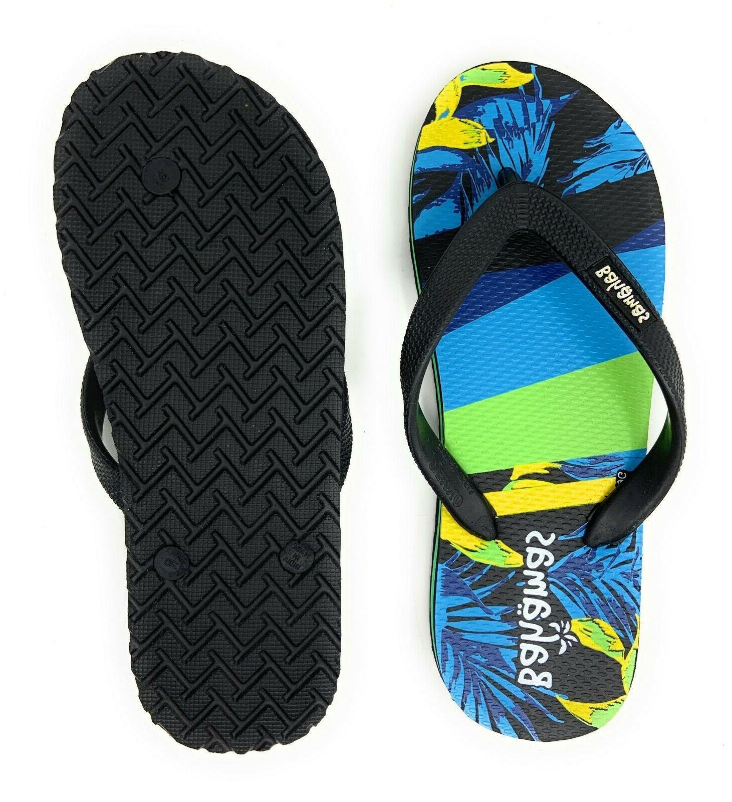 Bahamas Mens Flops Premium Comfort Thong Sandals Beach