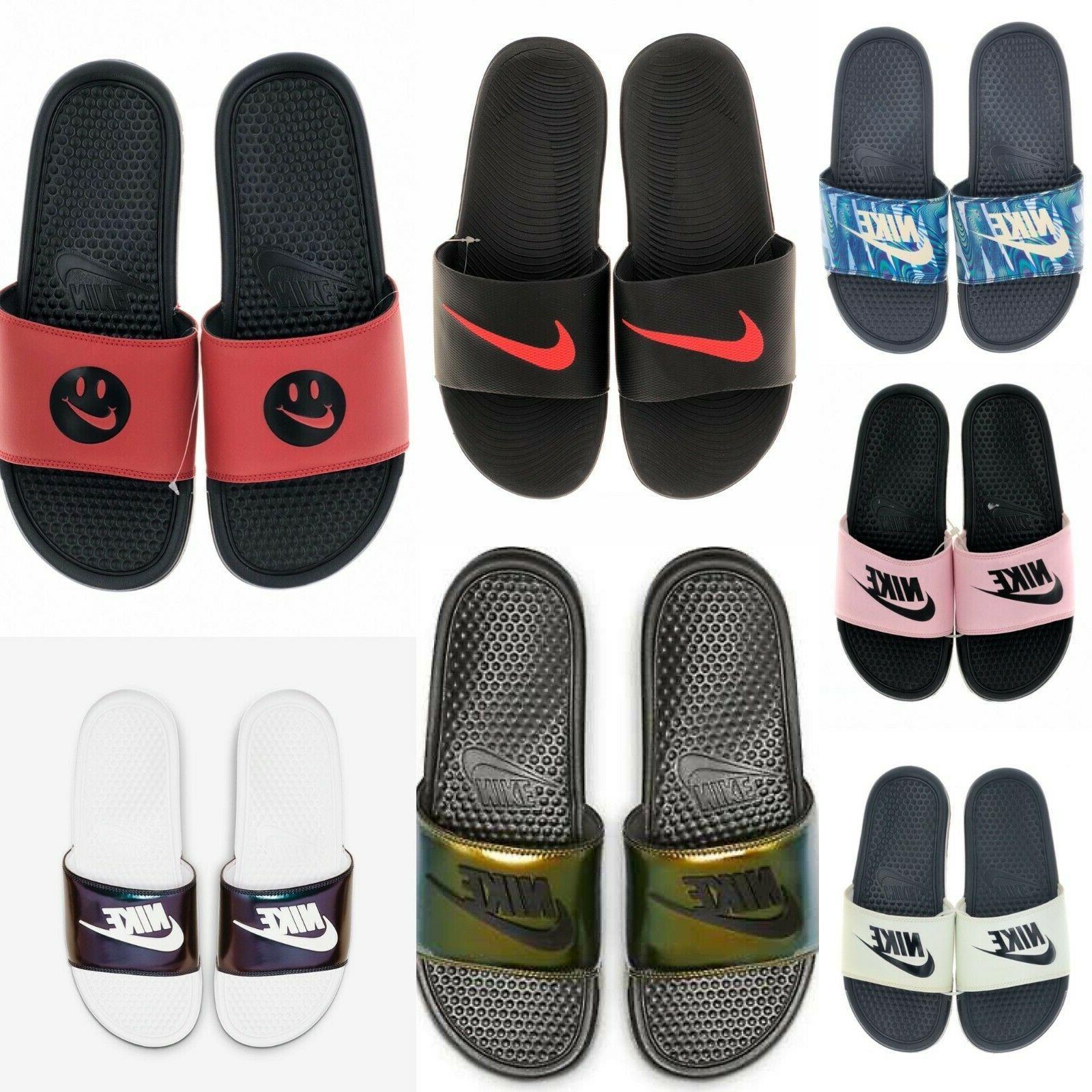 benassi jdi printed men s slide sandals
