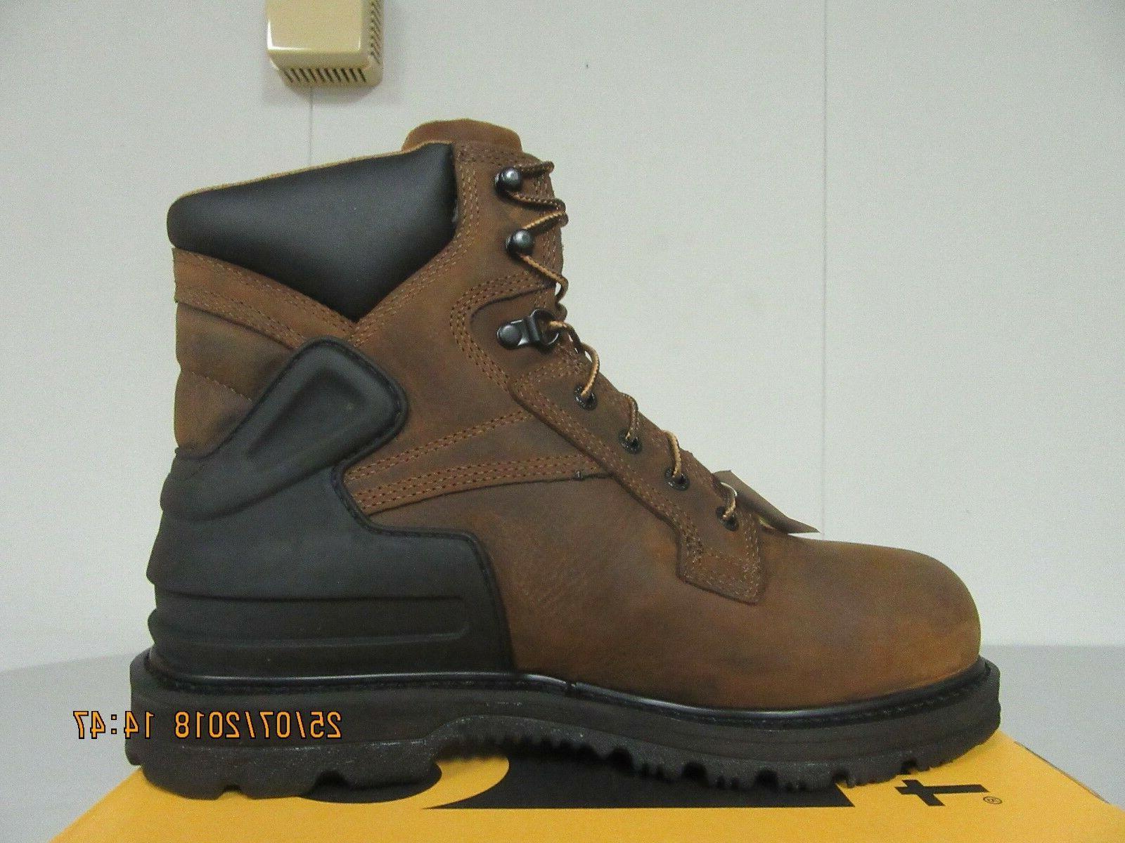 boot cmw6220 men s 6 bison brown