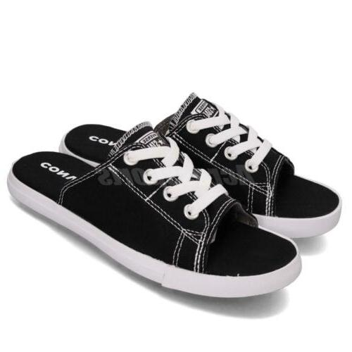 NEW Converse All Star Cutaway Shoes Open Toe size 6 Black White Slip on RARE | eBay
