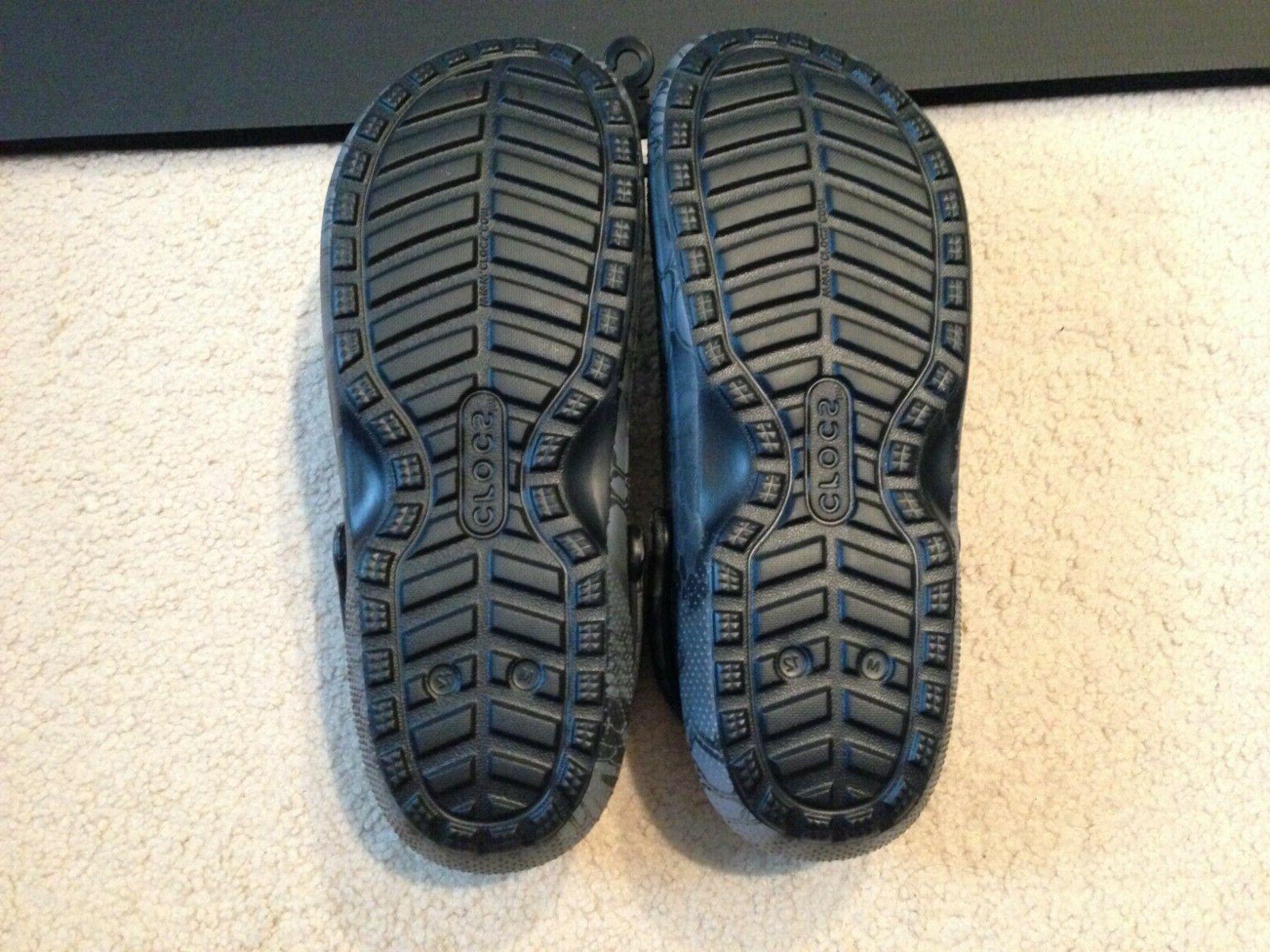Crocs Fuzz Lined Clog Slippers