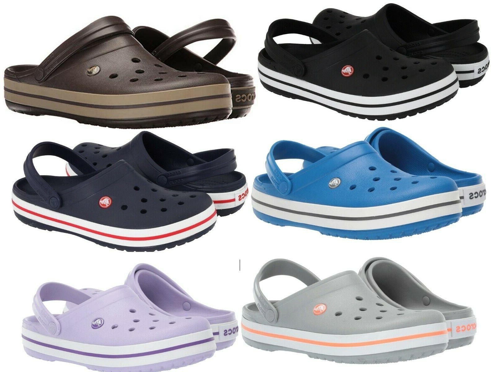 crocband clog unisex sandals ultralight foam slippers