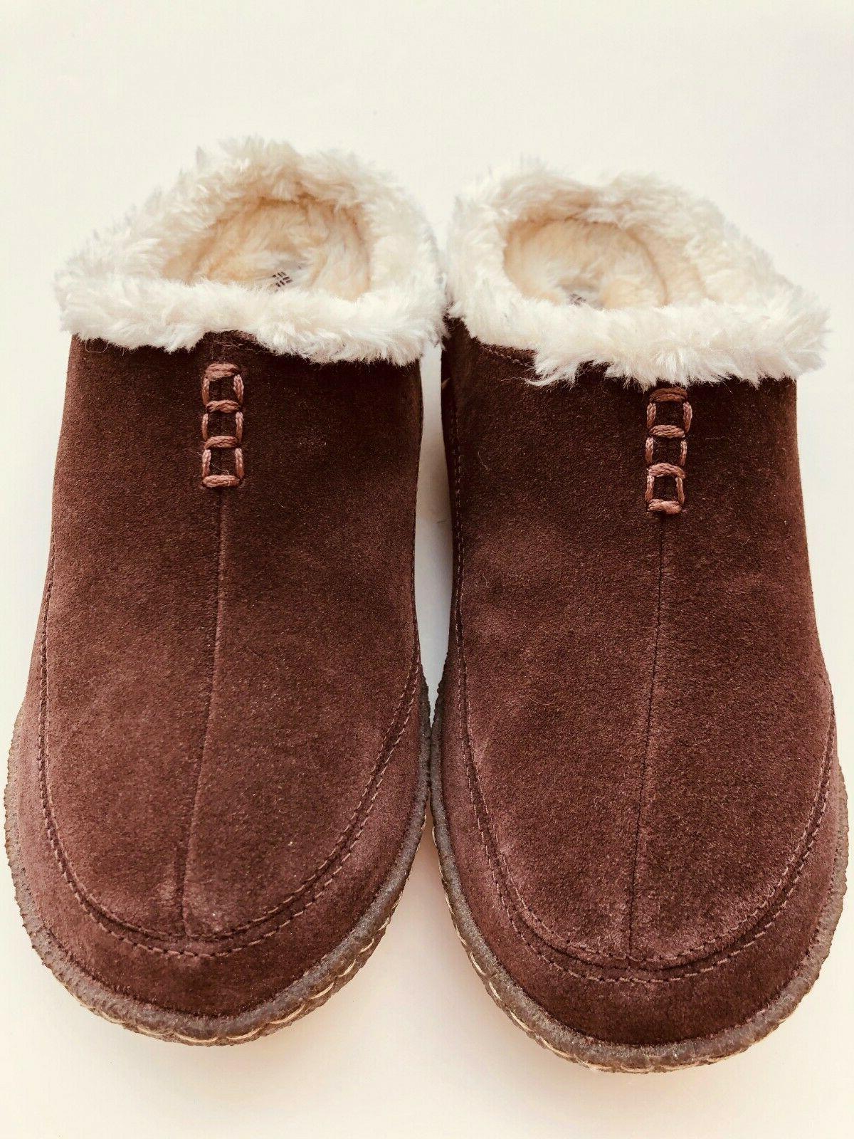 EUC Suede Slippers Size 7 US/ UK