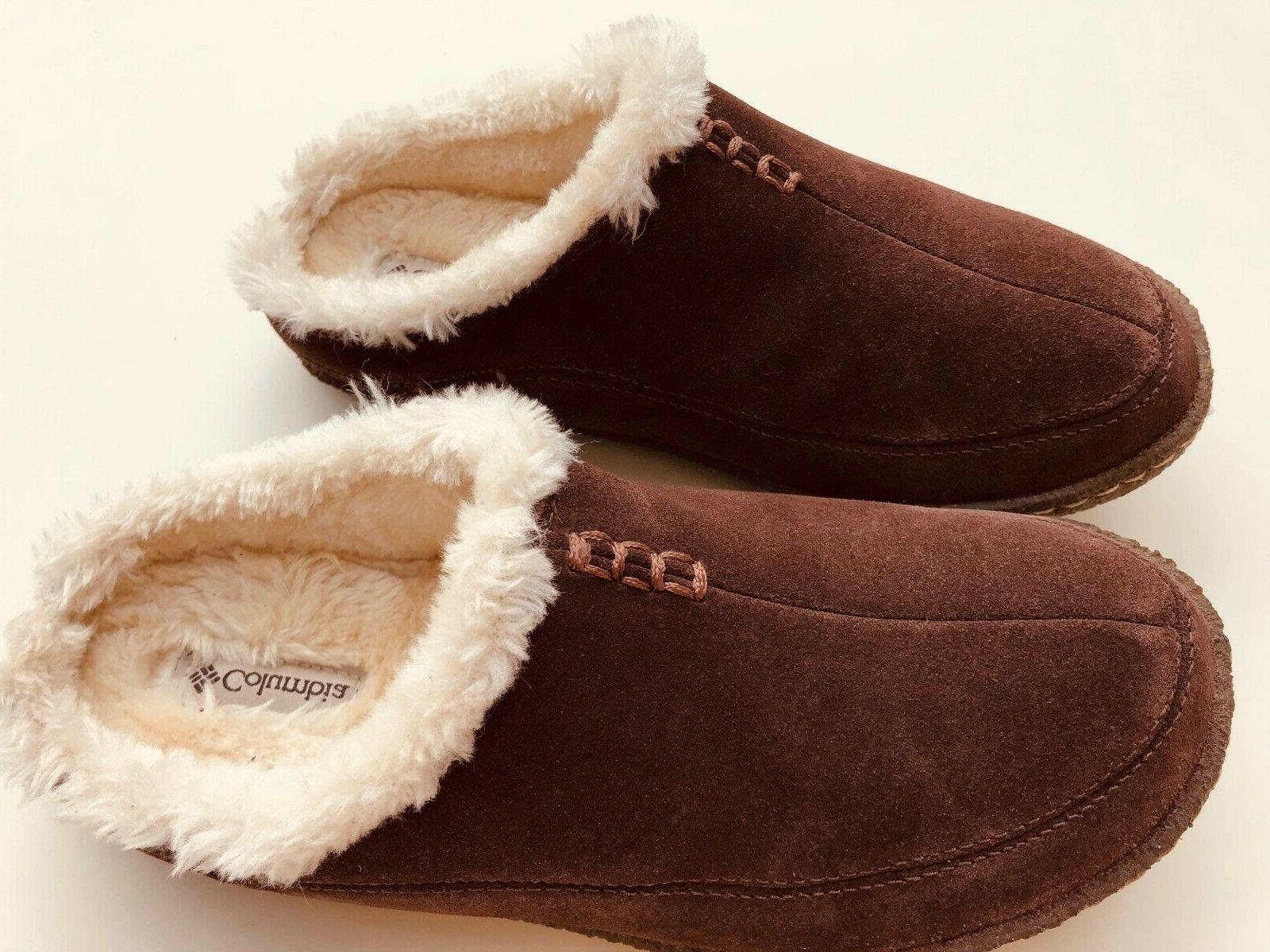 euc suede slippers size 7 us 40