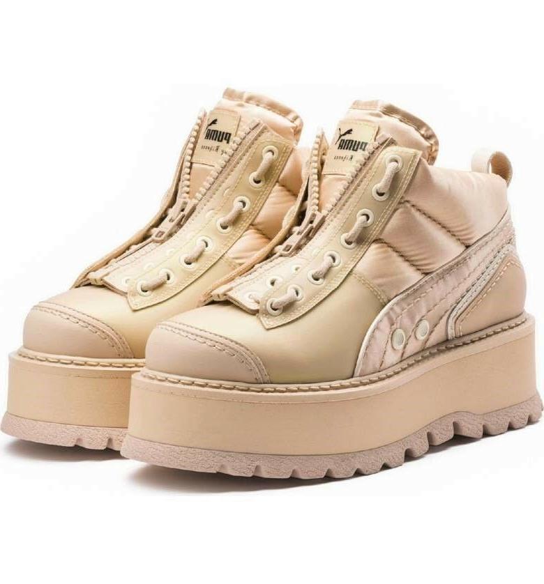 fenty by rihanna sneaker platform boot unisex