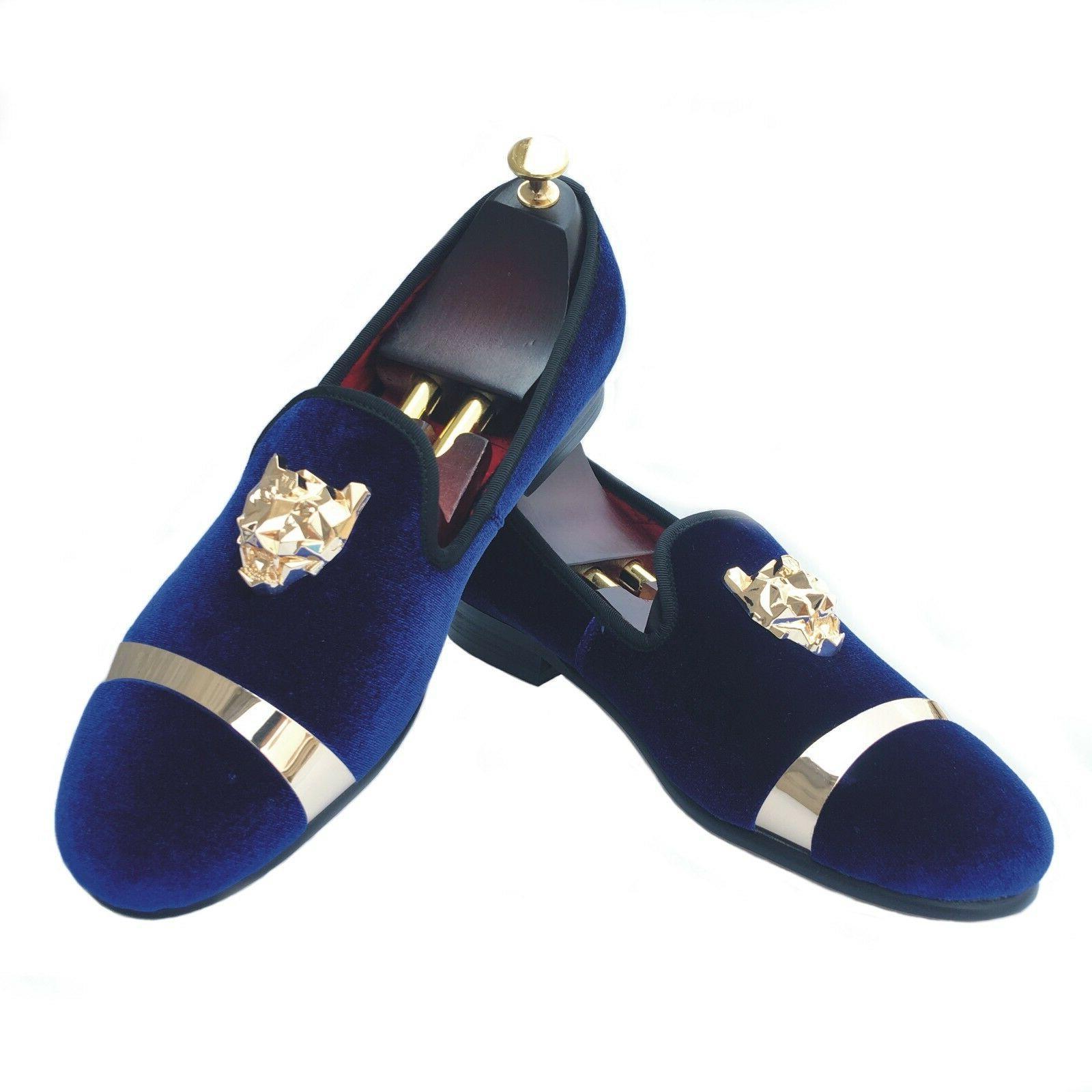 Handmade Slippers Gold Wedding Dress