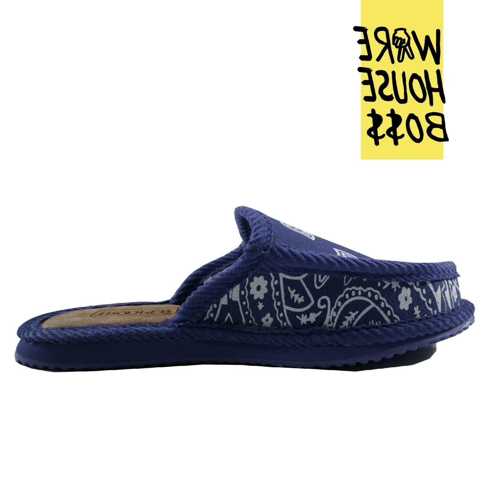TROOPER HOUSE SHOES PAISLEY SLIPPERS