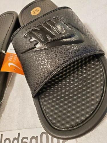 Nike Just Benassi JDI Black-Black sz 343880-001