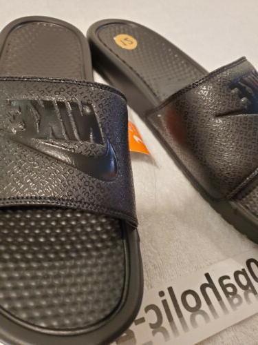 Nike Benassi Black-Black 12 343880-001