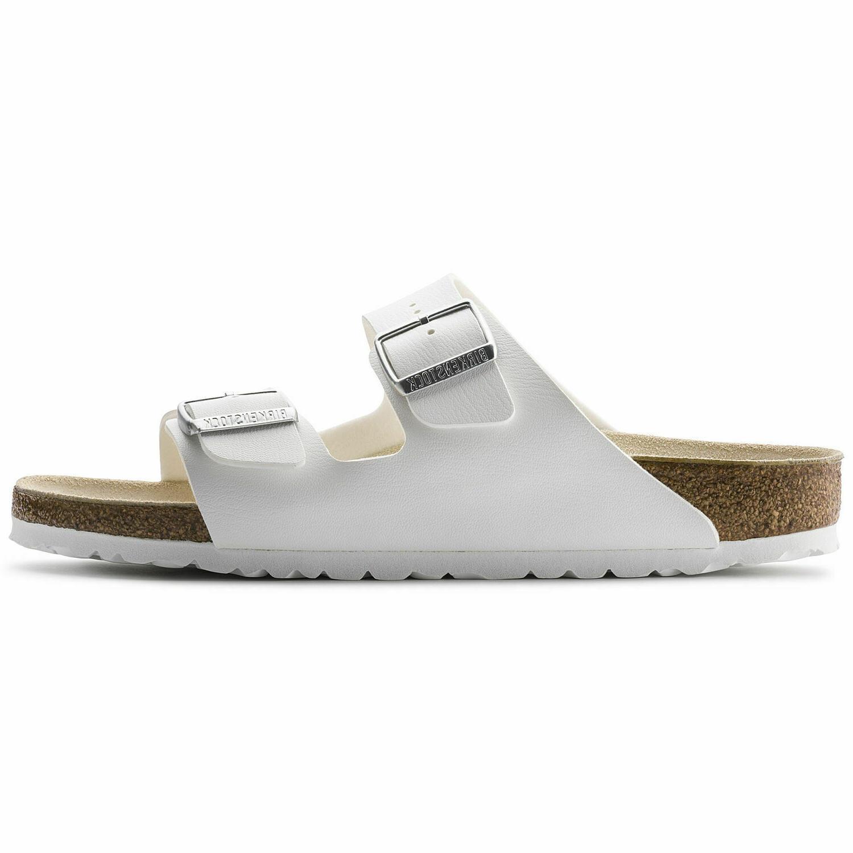 men arizona regular width sandal white birko