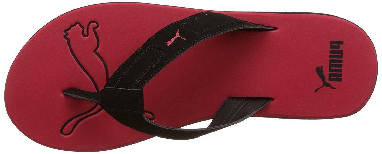 Puma NG DP Sandals Black-High Red UK 26cm
