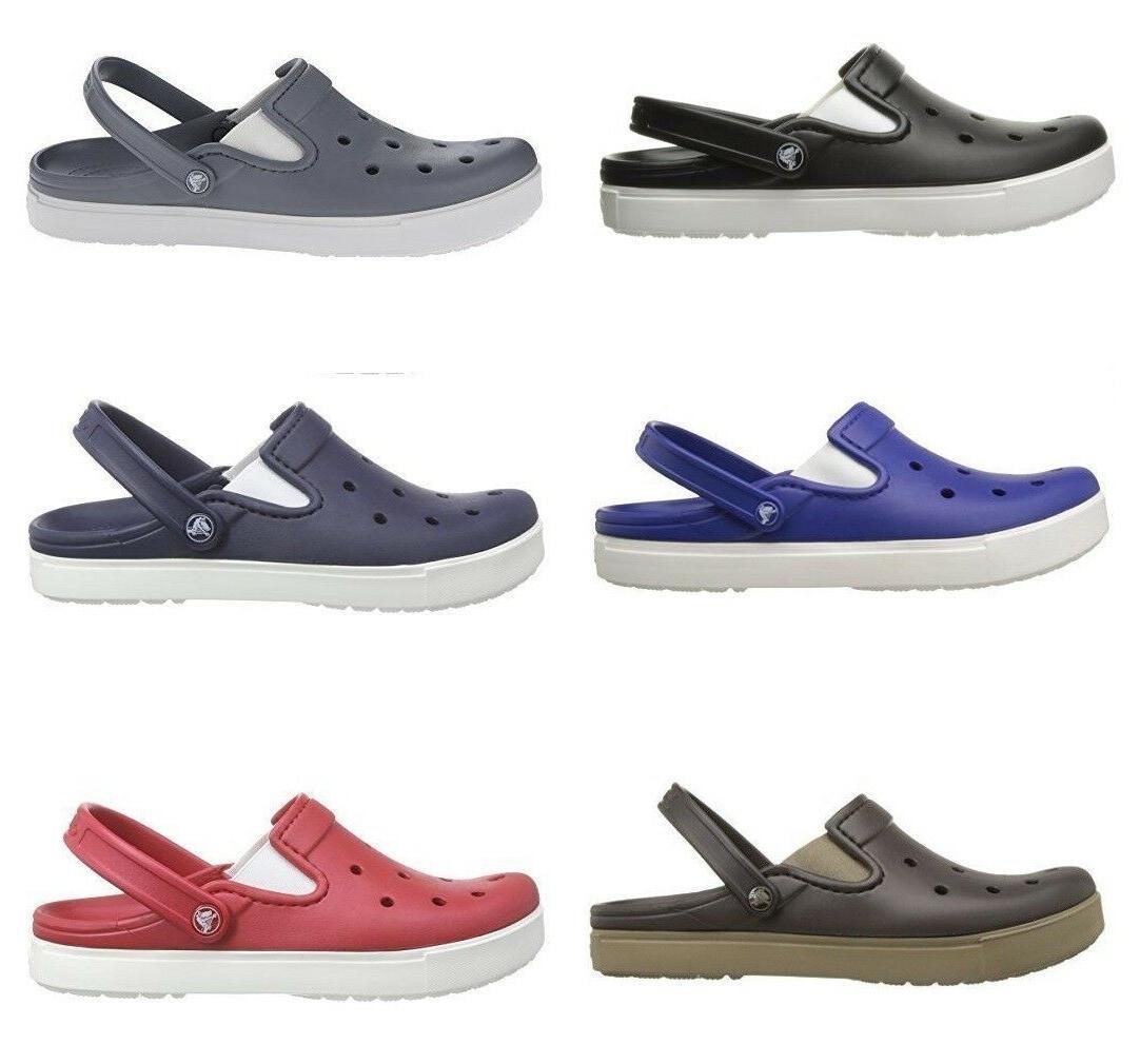 men s citilane clog slide slippers multi