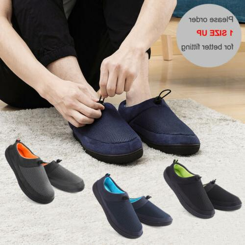 Men's Foam Slippers Breathable Comfortable Shoes Anti-Skid